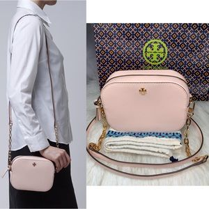 authentic Tory Burch Tory Burch Pink Leath…